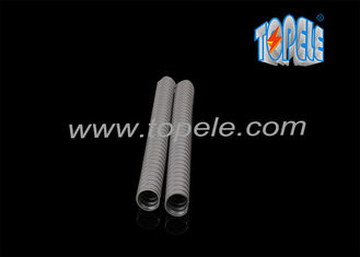 China Liquid Tight Flexible Plastic Conduit , Flexible Cable Conduit With Flier Of Cord supplier