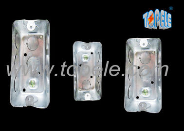 China Galvanized Steel Electrical Boxes And Covers Rectangular Iso Certificate supplier