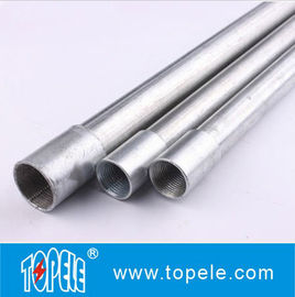 China Electrical Galvanized Steel BS4568 Conduit GI Tube With Threaded Coupler, 10 Feet supplier