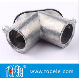 China EMT Conduit And Fittings Zinc Die Cast Set-screw EMT Pull Elbows supplier