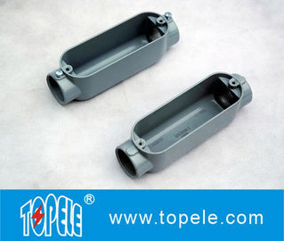 China Aluminum Die Cast Conduit Body , Threaded C Type With Cover / Outlet Box supplier
