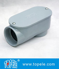 China SLB Explosionproof Threaded Rigid Conduit Body , Conduit Outlet Body supplier