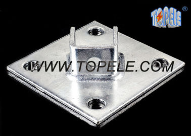 China Strut Channel / C Channel / Channel Bracket System  Base Plate, Unistrut Connecting Plate supplier