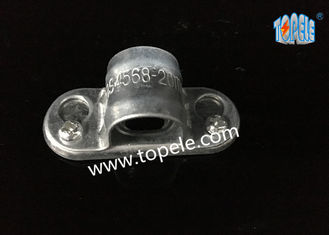 China Spacer Bar Saddle With Base BS4568 Conduit Fitting Accessory Two-hole Strap supplier