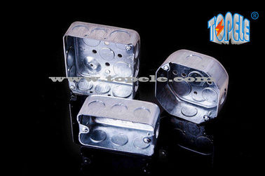 China Steel Square Junction Box Electrical Boxes And Covers For Lighting Fixtures supplier