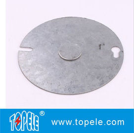 China Round Gang Electrical Boxes And Covers Weatherproof Flat Use To Attach Switches supplier
