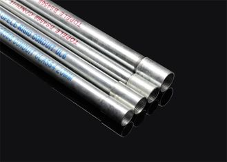 China ISO BS4568 Conduit Hot Dip Galvansized Conduit Pipe with screwed ends and caps supplier