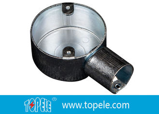 China BS Electrical Conduit Fittings Circular Junction Box For Conduit Fittings supplier