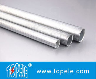 China EMT Conduit And Fittings Carbon Steel Galvanised Tube , Electrical Metallic Tubing supplier