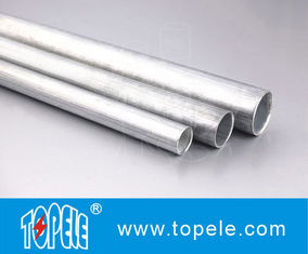 EMT Conduit And Fittings Carbon Steel Galvanised Tube , Electrical Metallic Tubing
