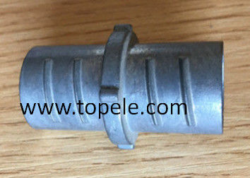 China Zinc Die Cast Flex Conduit Coupling , Durable Metal EMT Conduit And Fittings supplier