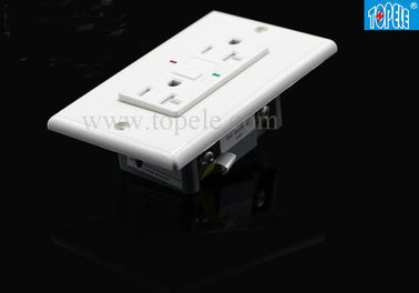 China Square Style Panel Gfci Receptacles Pop Up Socket Outlet With Custom Color supplier