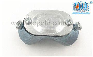 "China 1/2"" To 2"" Conduit Sealing Fittings 90 Degree Zinc Die Cast EMT / IMC Pull Elbow supplier"