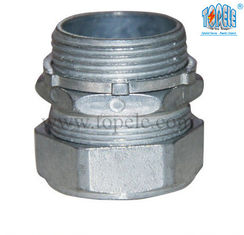 China ISO Certificate  NPT Thread Zinc EMT Compression Connector supplier
