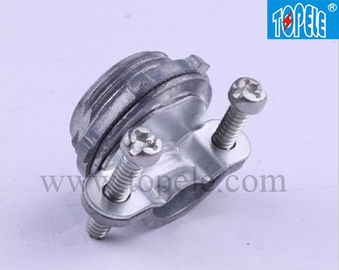 China UL Listed ZINC Romex Cable Clamp Connector For EMT Conduit supplier