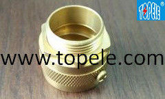 China Long Life Flexible Conduit And Fittings CNC Machine Brass Male Adapter supplier