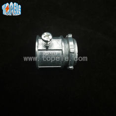 China Silver Color Set Screw Electrical Coupling BS Electrical Conduit Connectors supplier