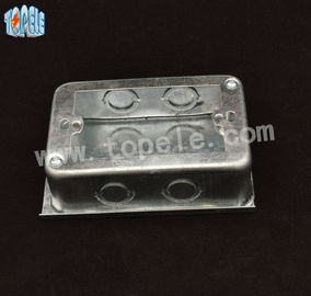 China 119X77X38 Electrical Boxes And Covers For Switches , Electrical Box Covers supplier