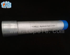 China Adjustable Rigid Electrical Aluminum Conduit With Surface Oxidation Treatment supplier