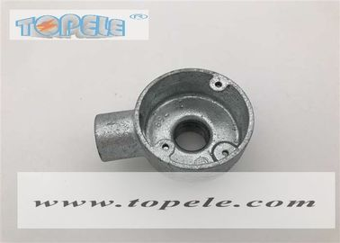 China Long Life BS4568 Conduit Malleable Iron 20mm 25mm Terminal And Back Outlet Box supplier