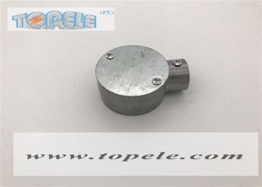 "China BS 31 Aluminum Circular Bos Gi Conduit Fittings 3/4"" 1"" One Way Terminal Box supplier"