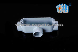 "China Threaded Aluminum Die Cast Rigid Conduit Body T Type 1/2"" To 4"" supplier"