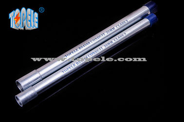 China Galvanized Steel BS4568 Conduit / BS4568 TUBE / GI PIPE With Protection Cap supplier