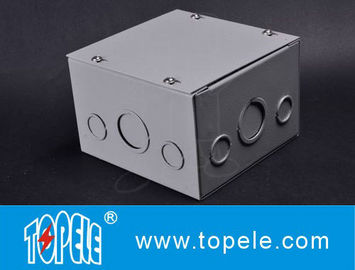 China Steel Square Junction Box , Electrical Boxes And Covers Cable Switch Enclosures supplier