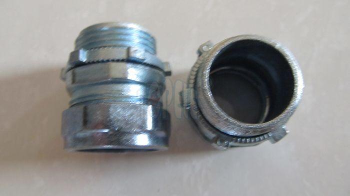 Emt conduit and fittings npt thread zinc compression