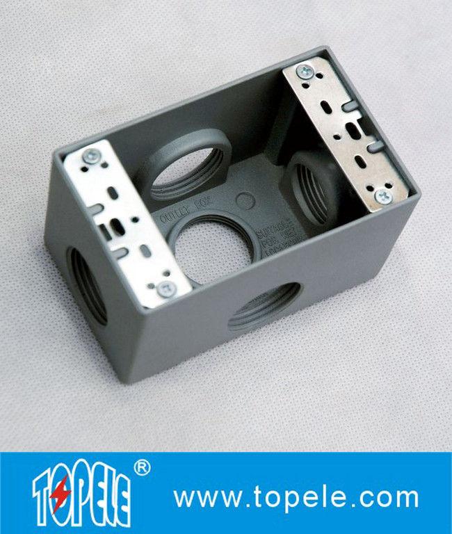 Weatherproof Electrical Boxes 3 Holes    5 Holes Single
