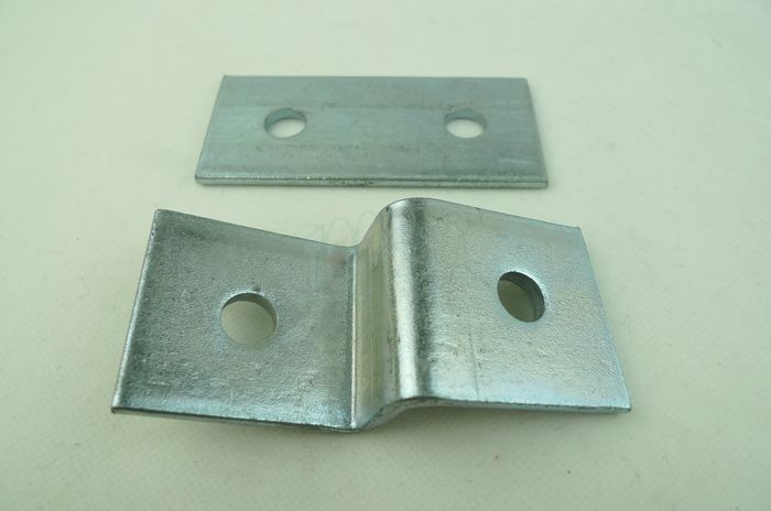 Stainless steel Flat Plate U Channnel Strut Fitting, Unistrut