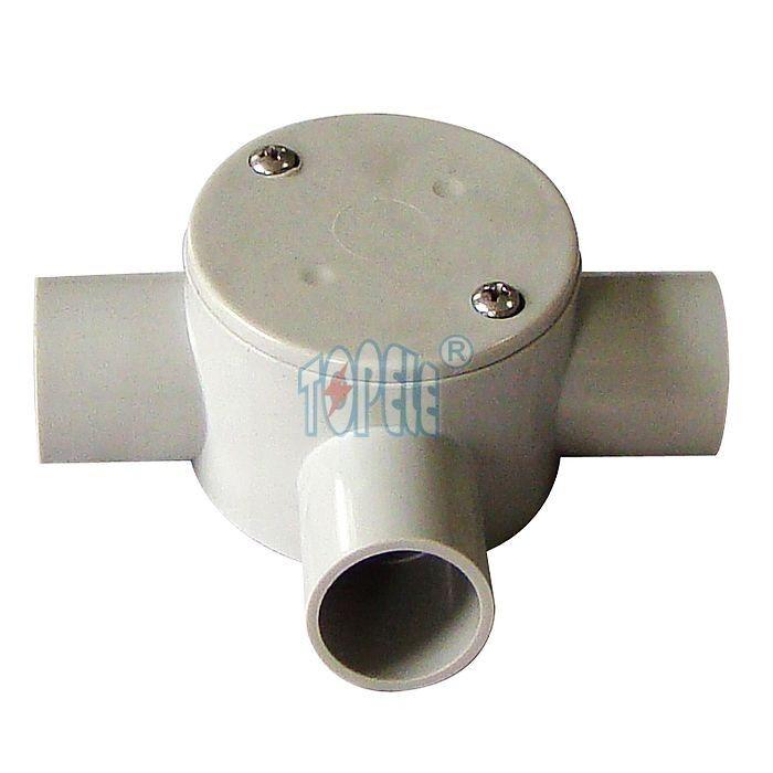 Shallow j box electrical way junction pvc conduit