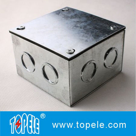 Steel Electrical Conduit Square Junction Box Metal Enclosure Outdoor Box Elec