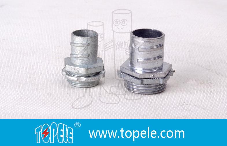Aluminum zinc die cast flexible conduit and fittings