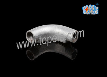 China Channel Inspection Elbow 20mm / 25mm Malleable Iron, BS Bend factory