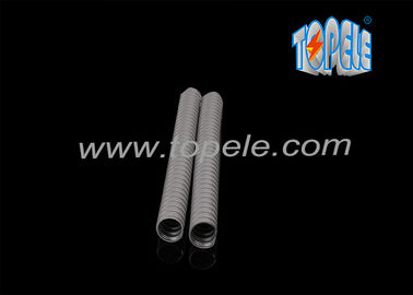 China Liquid Tight Flexible Plastic Conduit , Flexible Cable Conduit With Flier Of Cord factory