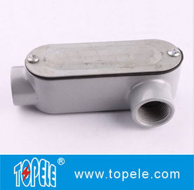 Aluminum LL Type Rigid Conduit Body For IMC / 4 Inch Rigid  Fitting UL Listed