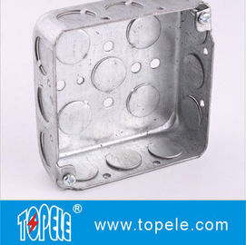 TOPELE 52151 / 52161 / 52171 Galvanized Steel Square Electrical Outlet Box