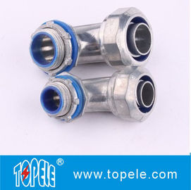 Zinc Die Cast Liquid Tight Flexible Conduit And Fittings 90 Degree Angle