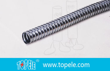 """1 / 2"""" To 4"""" GI Electrical Flexible Conduit And Fittings PVC Coated Steel Conduit"""