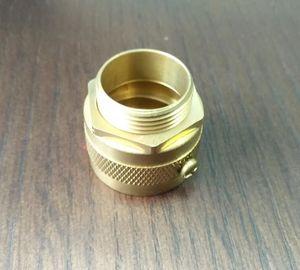 CNC machine Brass male conduit hose adaptor