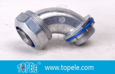 China Liquid Tight Flexible Conduit And Fittings Watertight Connector In Blue factory
