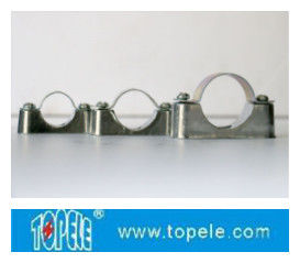 BS4568 / BS31 Steel Conduit Fittings Carbon Steel Spacer Bar Saddle With Base/Electrical conduit pipe tubo fittings of s