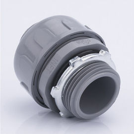China PVC Straight Nonmetallic Flex Conduit Fittings Liquid Tight Connectors CUL Approval factory