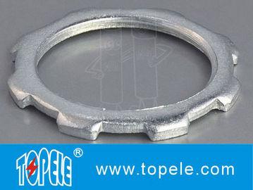 Indoor Galvanized Steel Locknut GRC Rigid IMC Conduit Fittings Heavy-duty