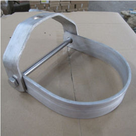 Heavy Duty Galvanized Steel Pipe Clamps Clevis Hanger With Long Years Warranty