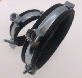 Steel Unistrut Beam Clamps With EPDM Or Without , Full Size Electrical Beam Clamps
