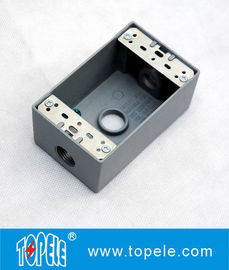 UL Standard Weatherproof Electrical Boxes---- One Gang 3 Holes  Outlet Boxes