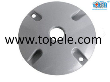 China UL One / Two/Three Holes Round Electrical Conduit Box Cover For Lamp Holder factory