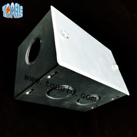 BS4568 Steel GI Electrical Boxes And Covers For Metal Outlet Devices